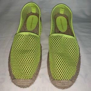 HOT🔥Rebecca Minkoff ankle high mesh slip-on shoes